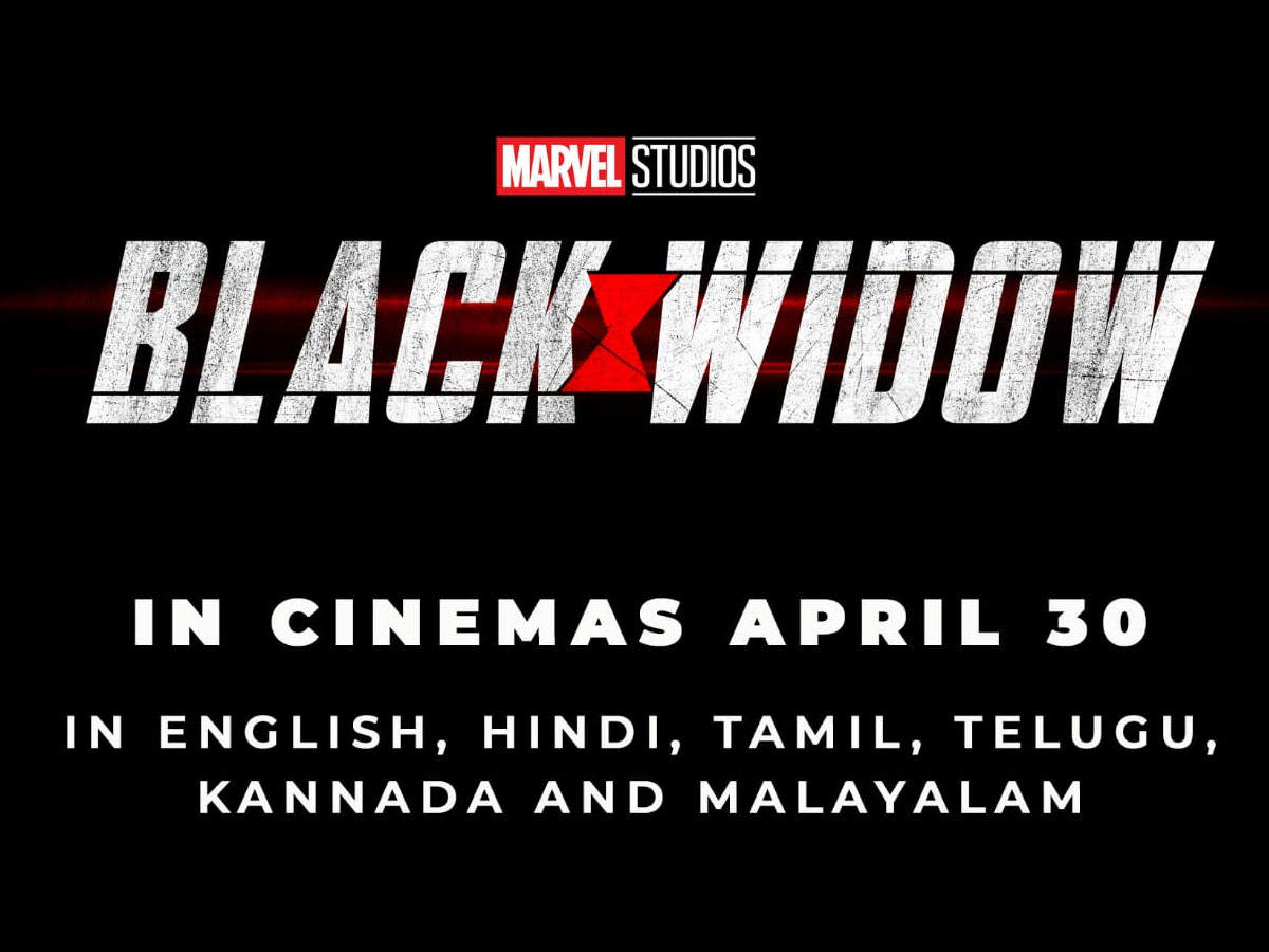 Black Widow Scarlett Johansson Starrer To Get Multi Lingual Release In India A Day Before Its Hollywood Release English Movie News Times Of India