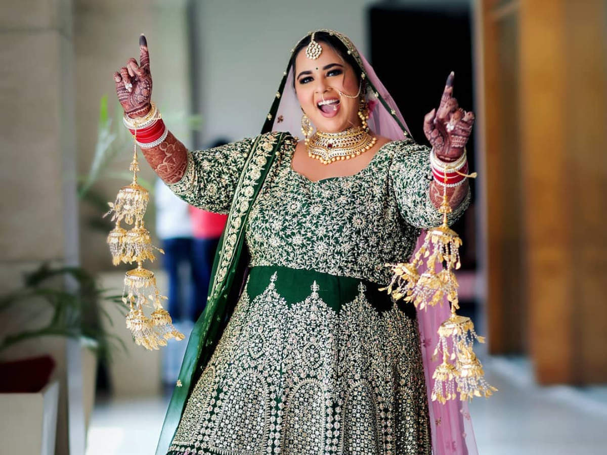 Plus Size Brides Prove Size Doesn T Matter Times Of India