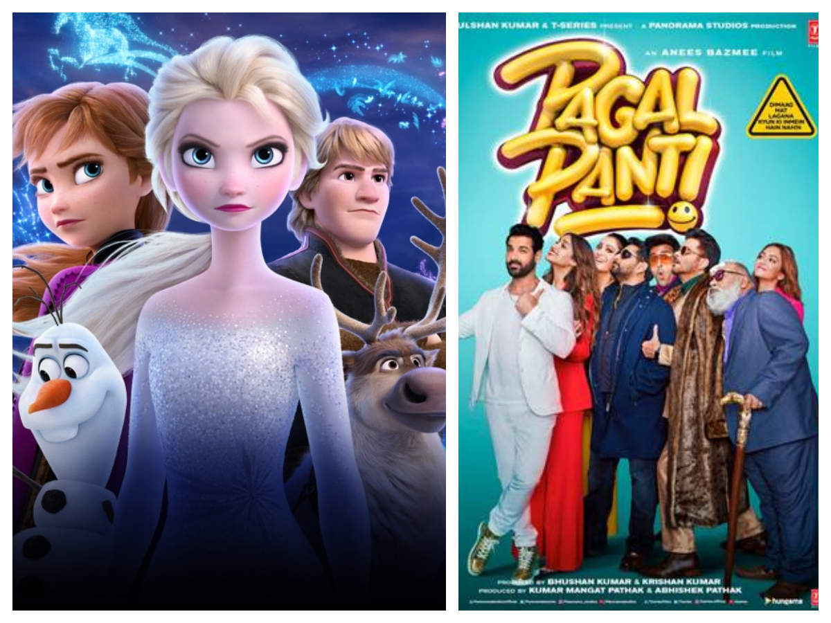 'frozen 2' Continues To Do Well At The Box-office While 'pagalpanti' Drops Further | Hindi Movie News