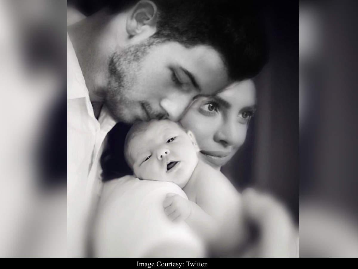 Fan Photoshops A Baby Into Priyanka Chopra-nicks Jonas' Picture, Making It A Complete Family Portrait   Hindi Movie News