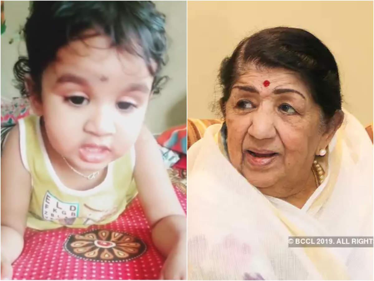 After Ranu Mondal, A Toddler's Rendition Of Lata Mangeshkar's  Goes Viral On The Internet   Hindi Movie News