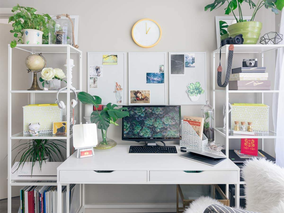 Study Tables Create An Inspiring Workspace That Boosts