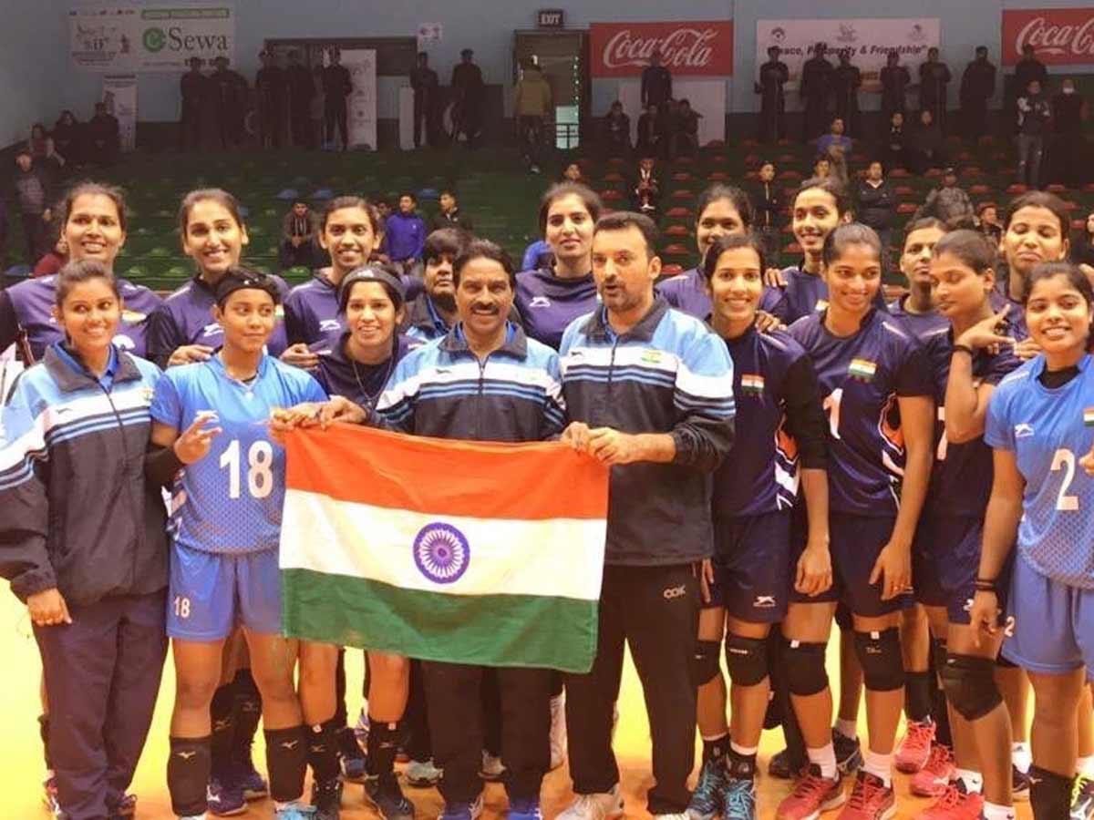 Dominant Kerala Women Retain National Volleyball Title More Sports News Times Of India