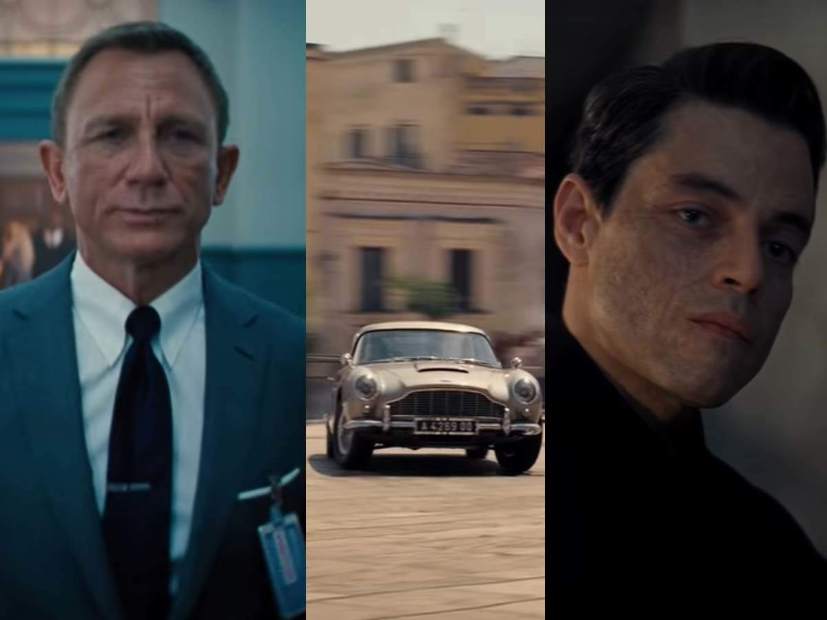 'no Time To Die' Trailer: James Bond Is Back In Action! | English Movie News