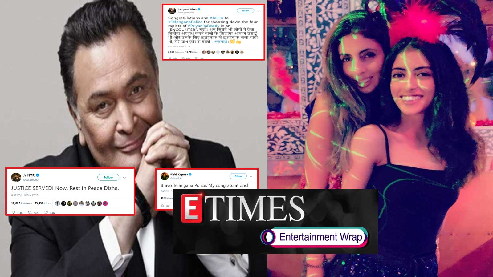 rishi-kapoor-nagarjuna-among-others-praise-telangana-police-for-hyderabad-encounter-shweta-abhishek-bachchan-wish-navya-naveli-on-her-birthday-and-more
