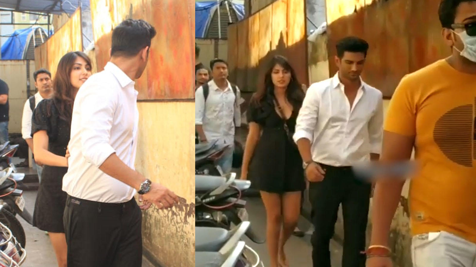 sushant-singh-rajput-and-his-rumoured-ladylove-rhea-chakraborty-avoid-posing-together-for-the-paps