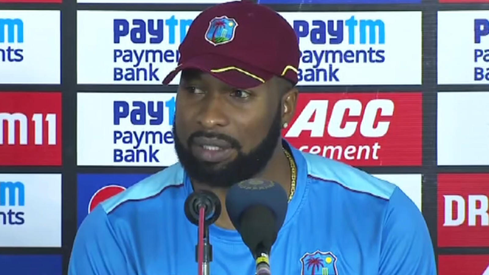 india-vs-wi-1st-t20i-lack-of-discipline-in-bowling-let-us-down-says-kieron-pollard