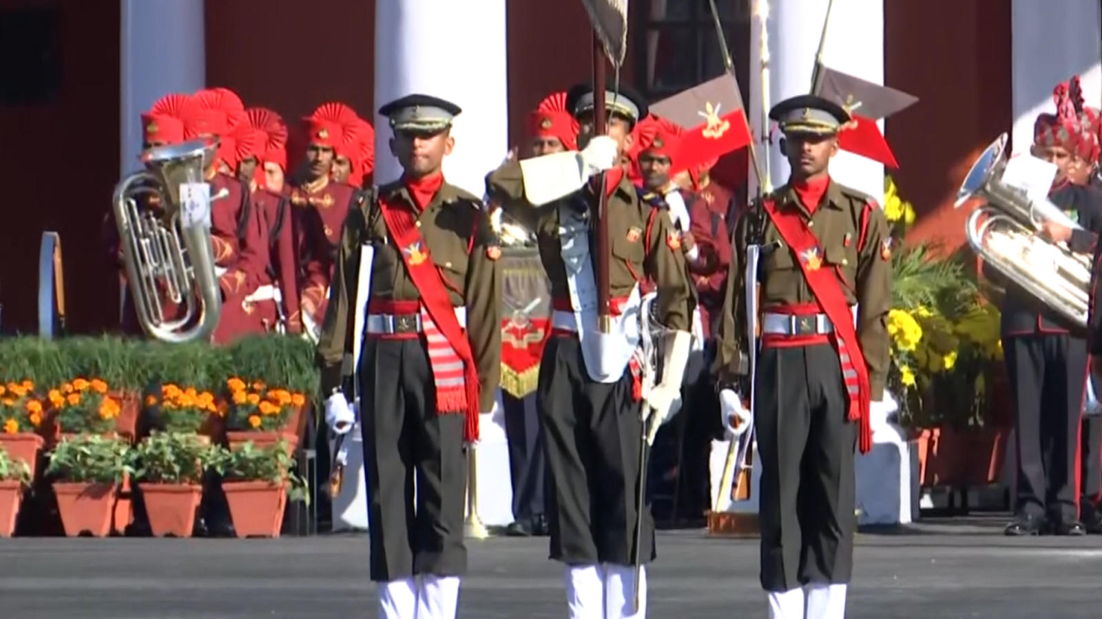 defence-minister-rajnath-singh-attends-imas-passing-out-parade-in-dehradun