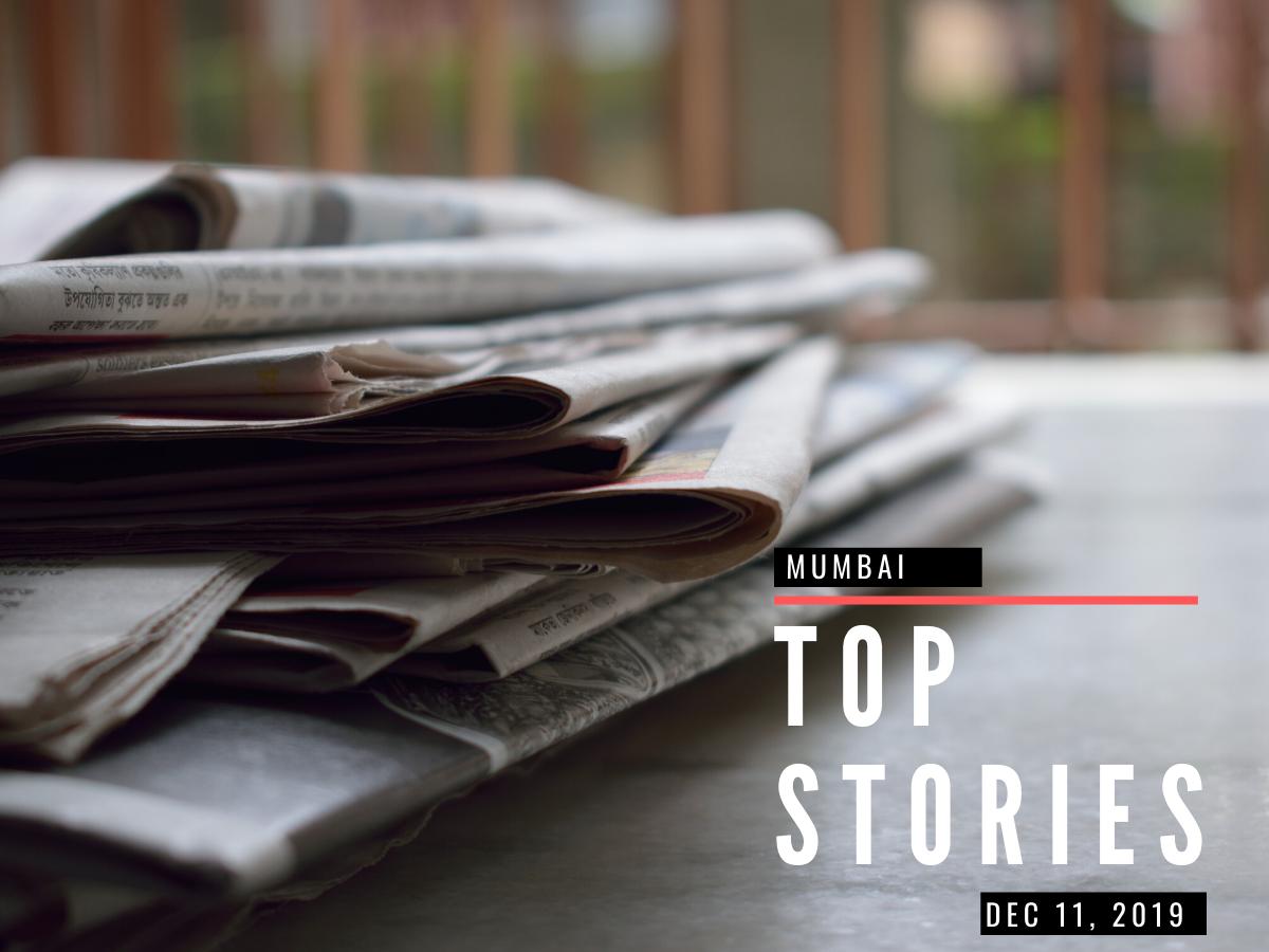 Mumbai top stories Dec 11, 2019: Travel time between Mumbai and Badlapur to reduce to 1 hr 30 mins