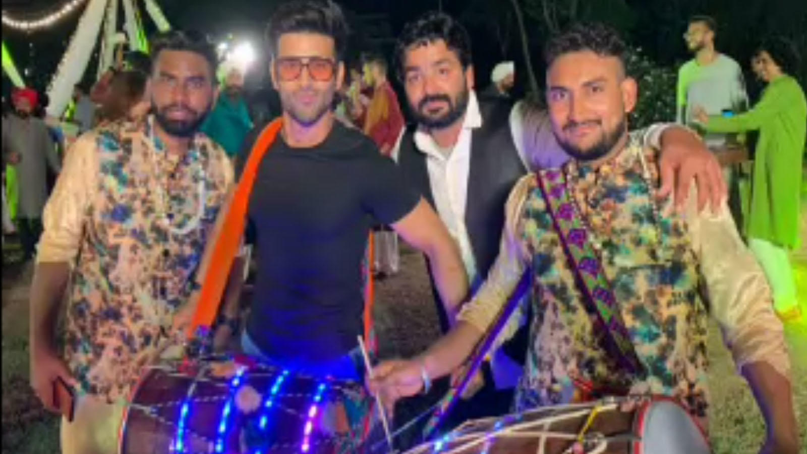check-out-pulkit-samrat-playing-the-dhol-at-a-friends-wedding