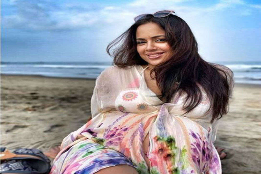 """""""I love going on biking tours with hubby,""""Sameera Reddy"""