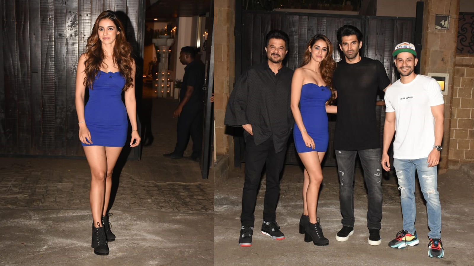 Disha Patani Parties The Night Away With Malang Team Shows Off Her Svelte Figure In Blue Tube Dress Hindi Movie News Bollywood Times Of India