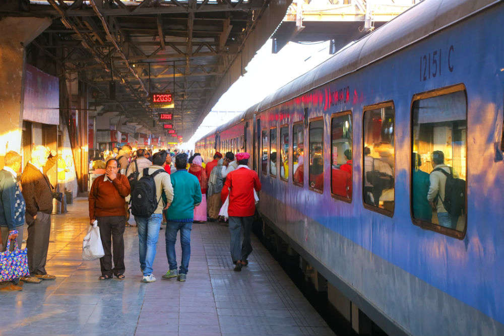 Trains delayed due to heavy fog in NCR