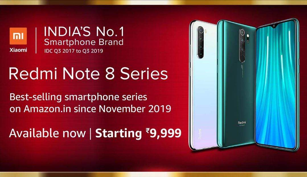 Redmi Note 8 Pro And Note 8 Starting At Rs 9 999 On Amazon Most Searched Products Times Of India