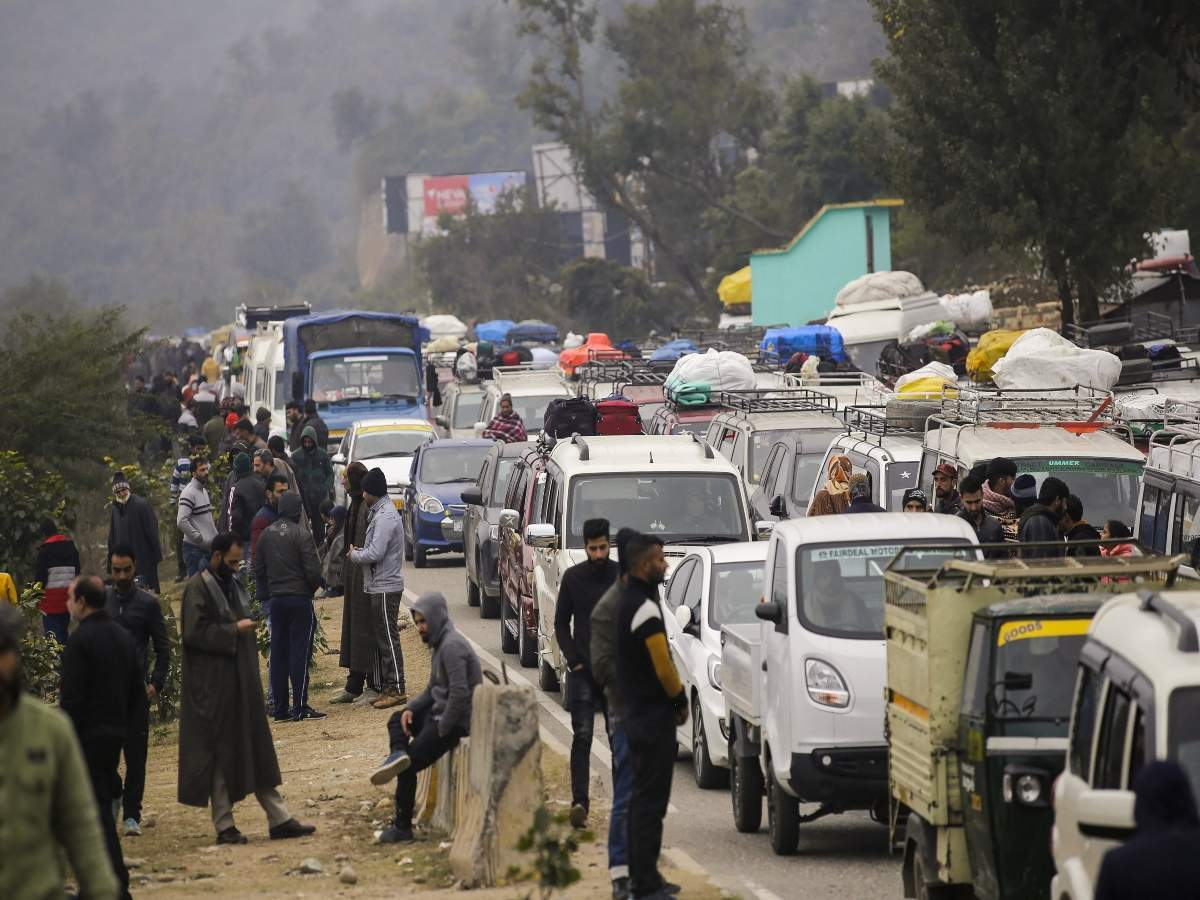 Three dead in separate accidents on Jammu-Srinagar NH
