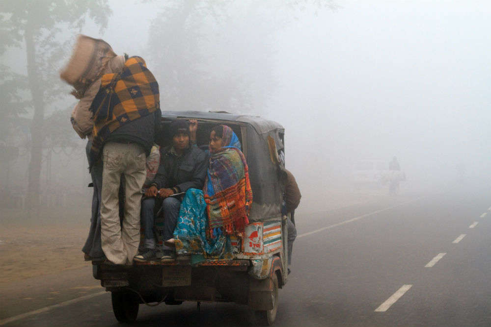 Air, road and rail traffic in North India affected due to exceptional winter prevailing in the region