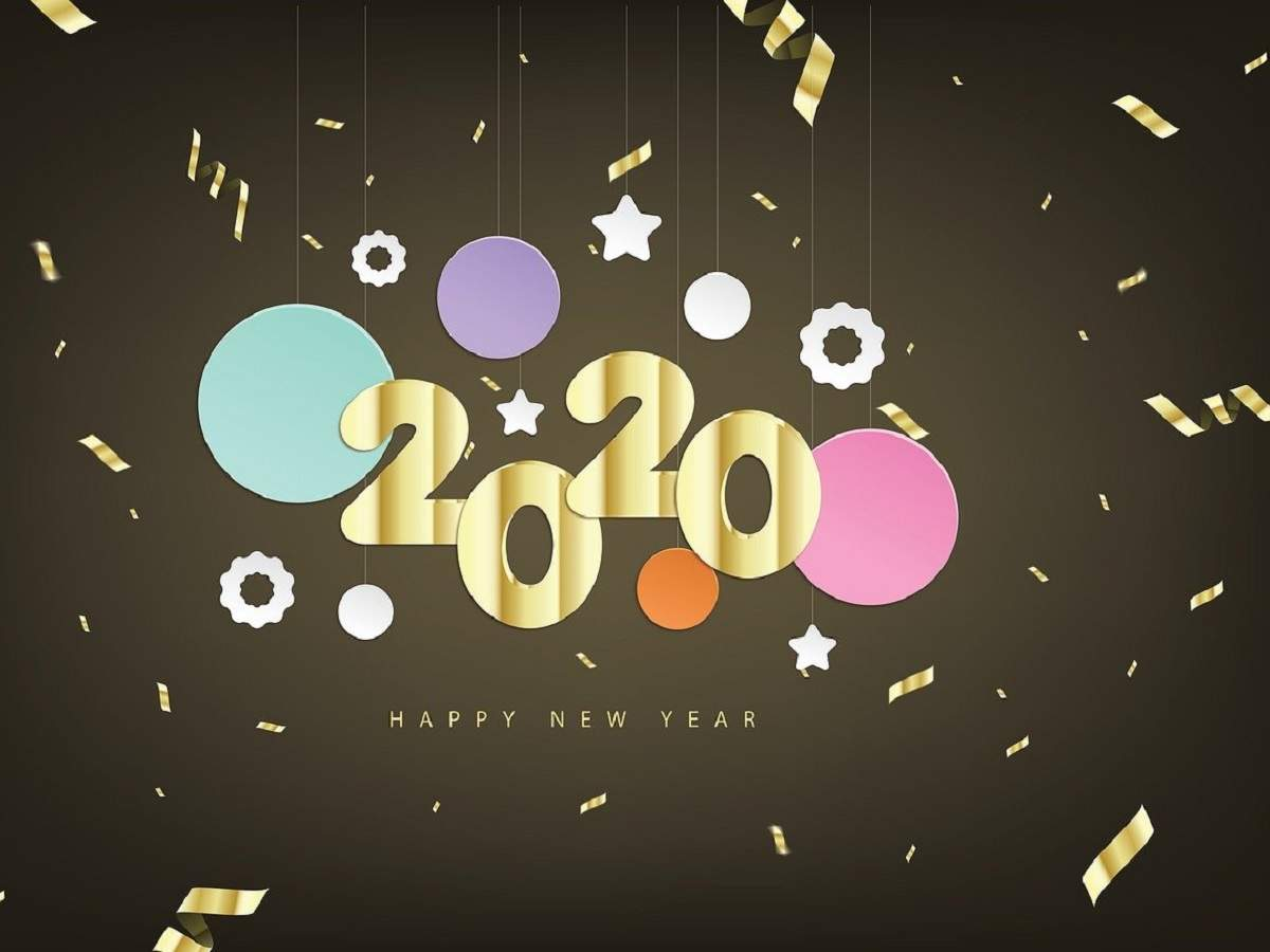 Happy New Year 2020 Wishes Images Messages Quotes Photos Status Sms And Greetings Times Of India