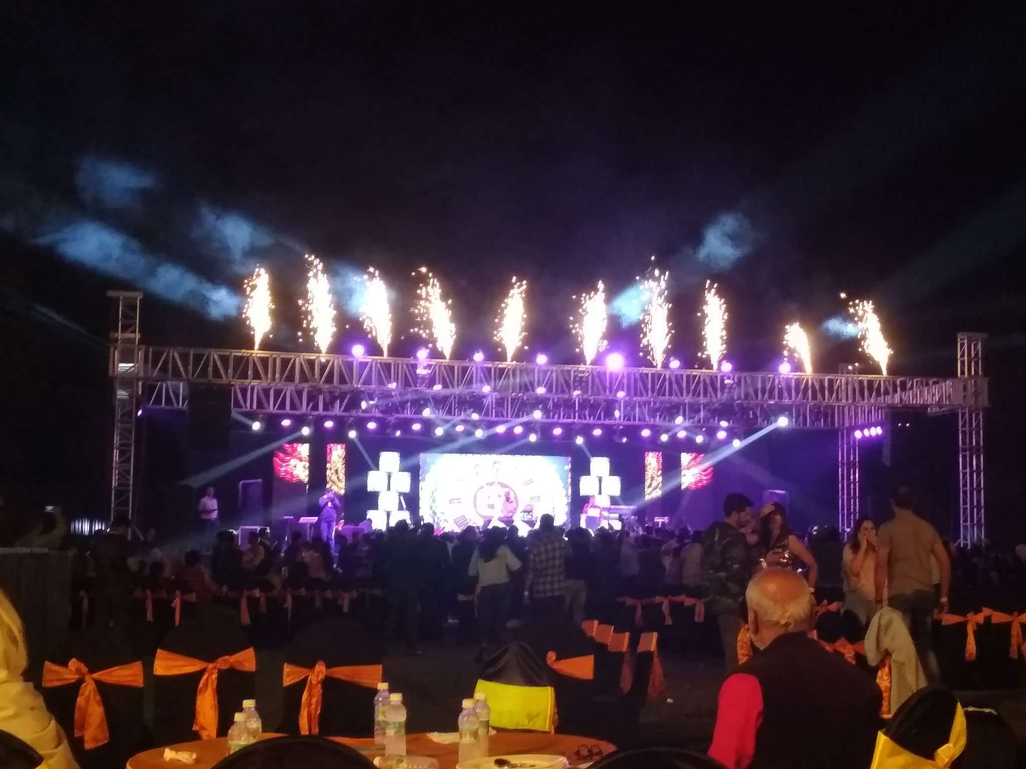 rock music: Aurangabad rings in New Year with a glamourous party | Events Movie News - Times of India