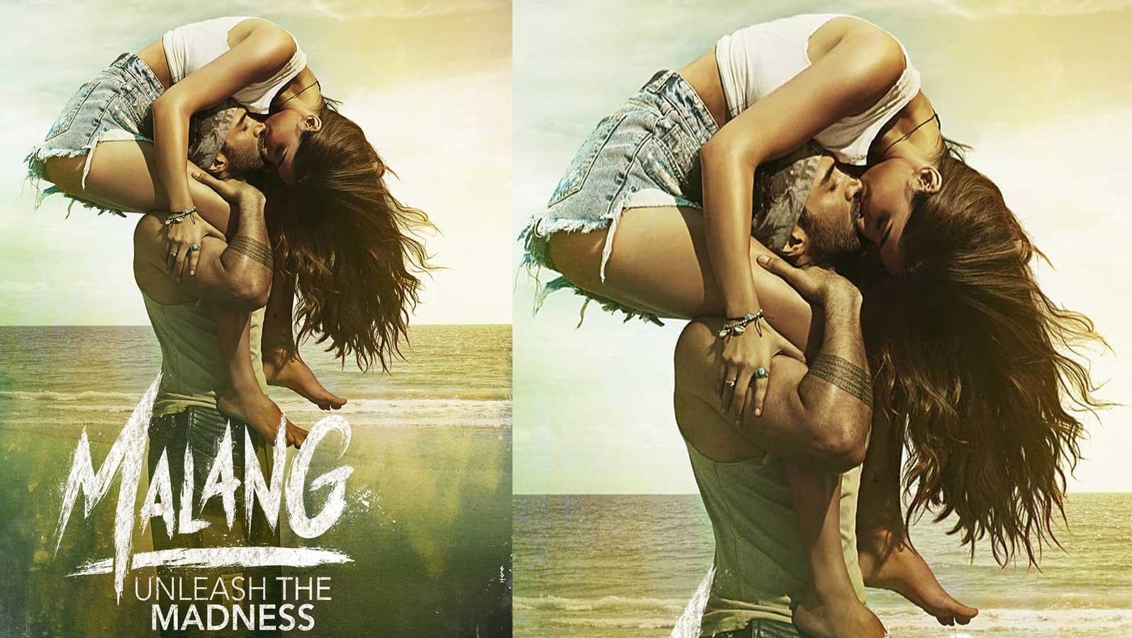 Malang New Poster Disha Patani And Aditya Roy Kapur Share A Passionate Kiss Hindi Movie News Times Of India