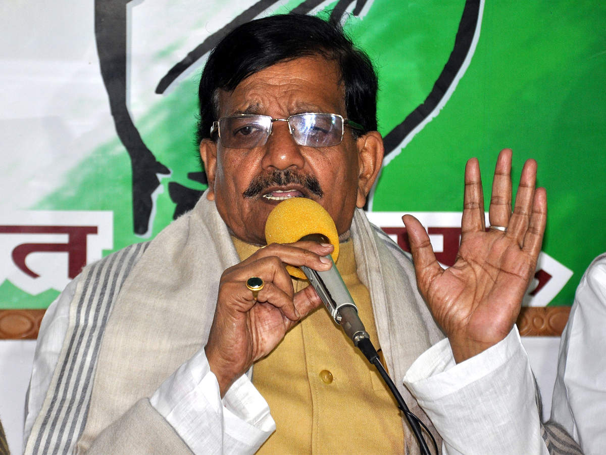 Bihar Congress chief Madan Mohan Jha flays state govt   Patna News - Times  of India