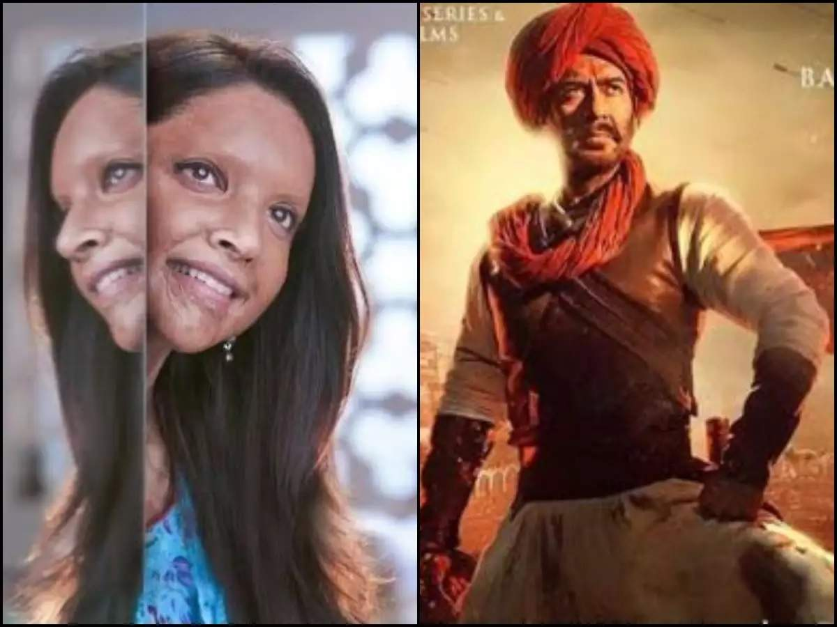 Image result for chhapaak vs tanhaji