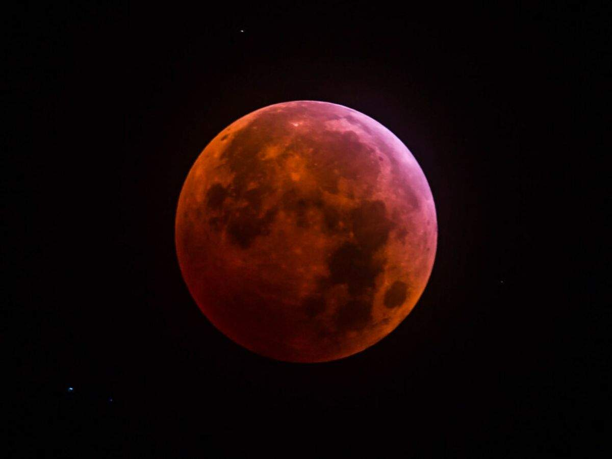 First full moon of the new decade comes with lunar eclipse