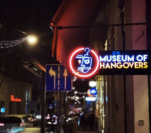 This quirky Museum of Hangovers is an ode to your boozy night ventures