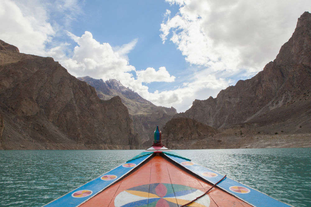 Attabad Lake in Pakistan is a stunning result of a natural disaster