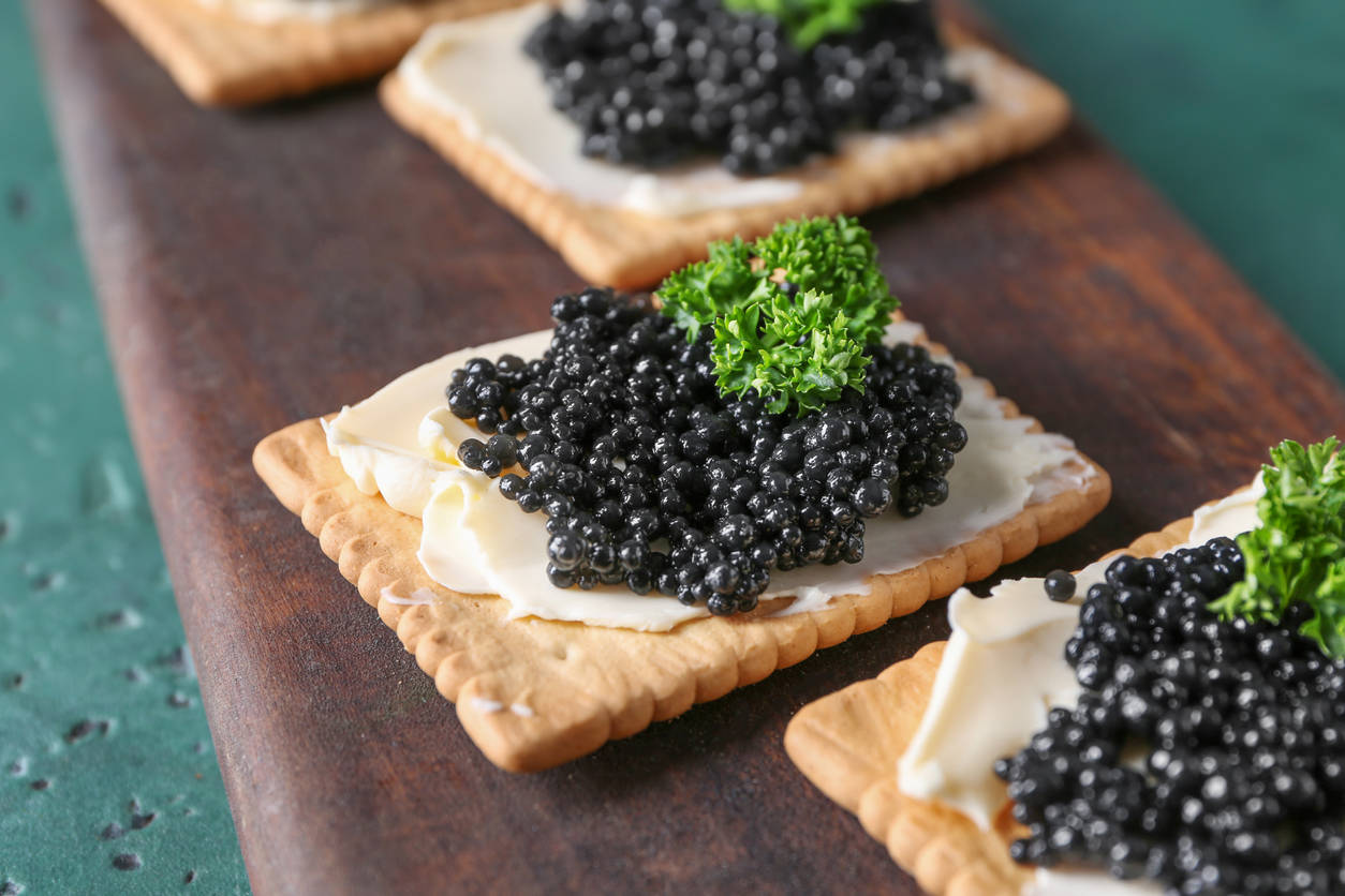 Caviar, the Russian black gold you would love to eat