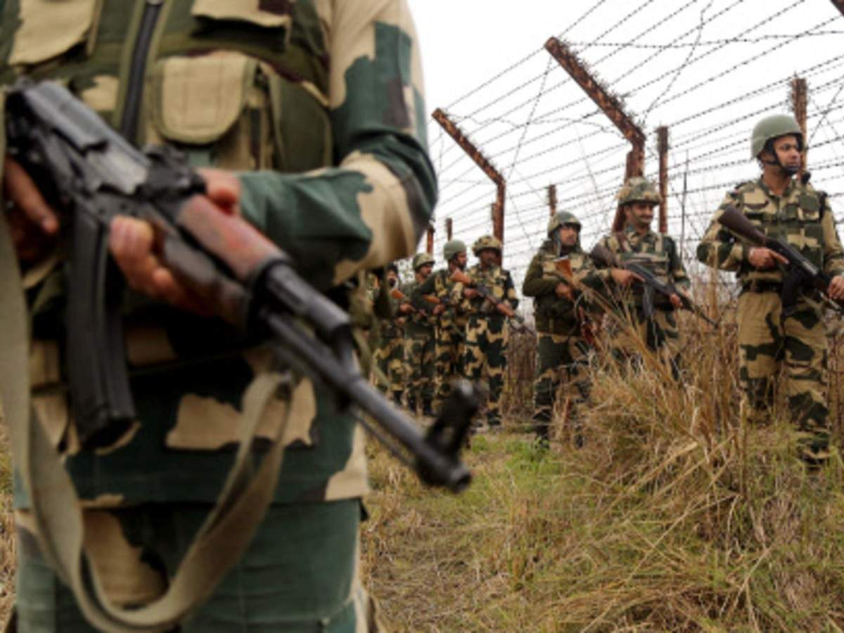 BSF opens fire at 'drone-like objects' near India-Pak border in Ferozepur   India News - Times of India