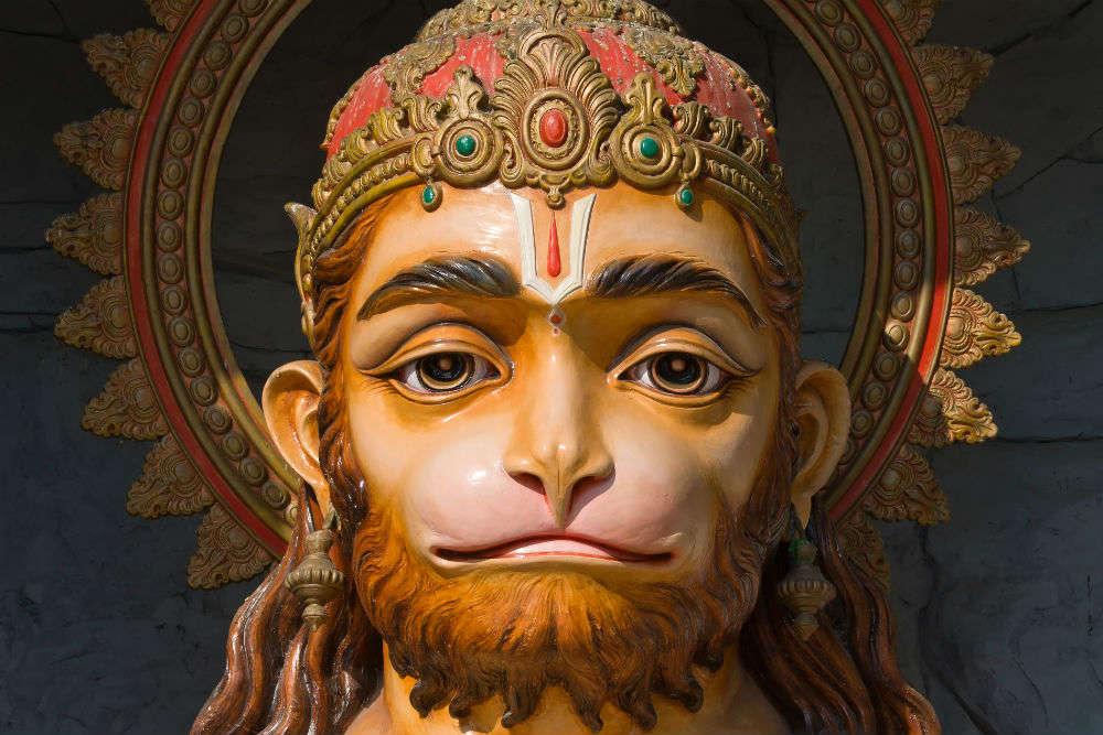 Paritala Anjaneya Temple, Vijaywada