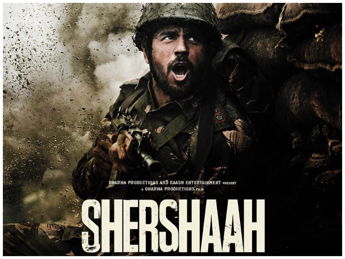Shershaah' first look: Manish Malhotra, Nitya Mehra, Rakul Preet Singh and  others praise Sidharth Malhotra   Hindi Movie News - Times of India