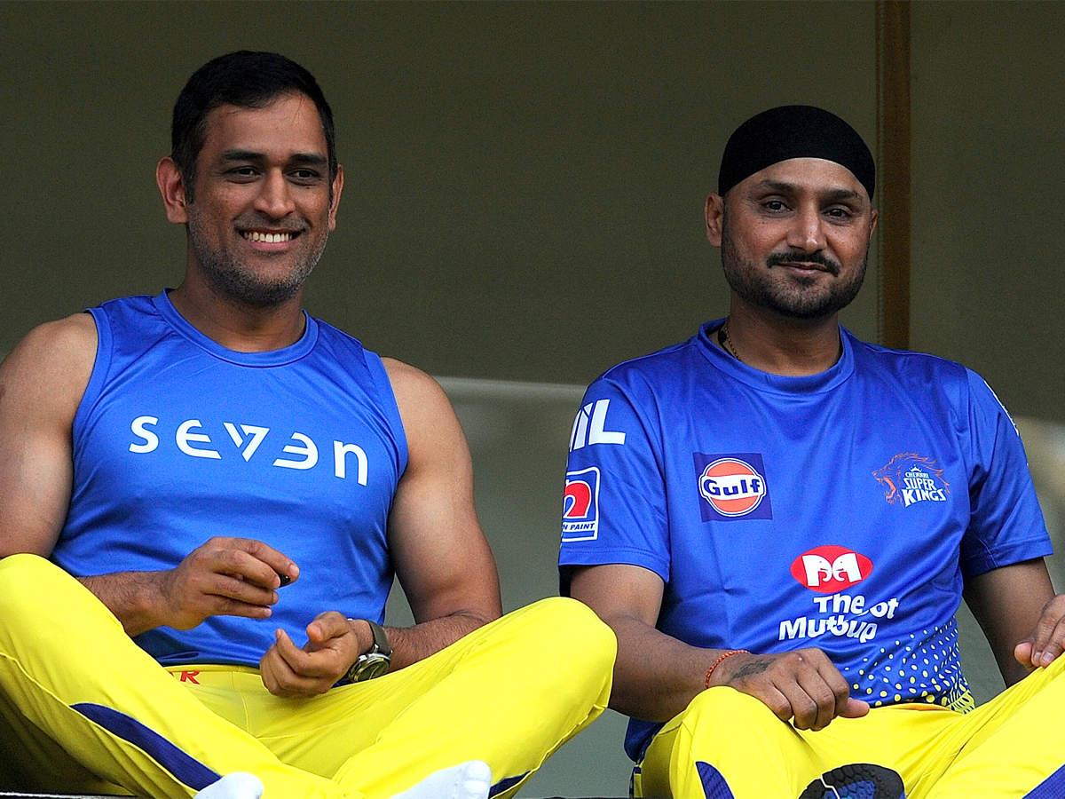 I don't think Dhoni will play for India again: Harbhajan   Cricket ...