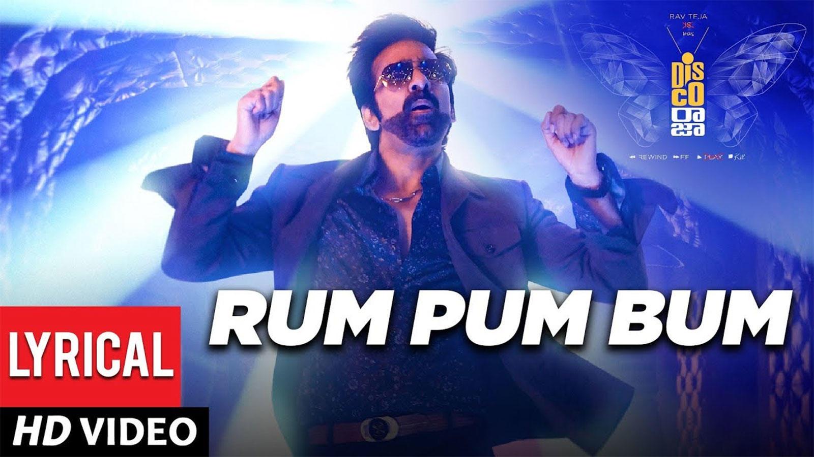 Disco Raja   Song - Rum Pum Bum (Lyrical)   Telugu Video Songs - Times of  India