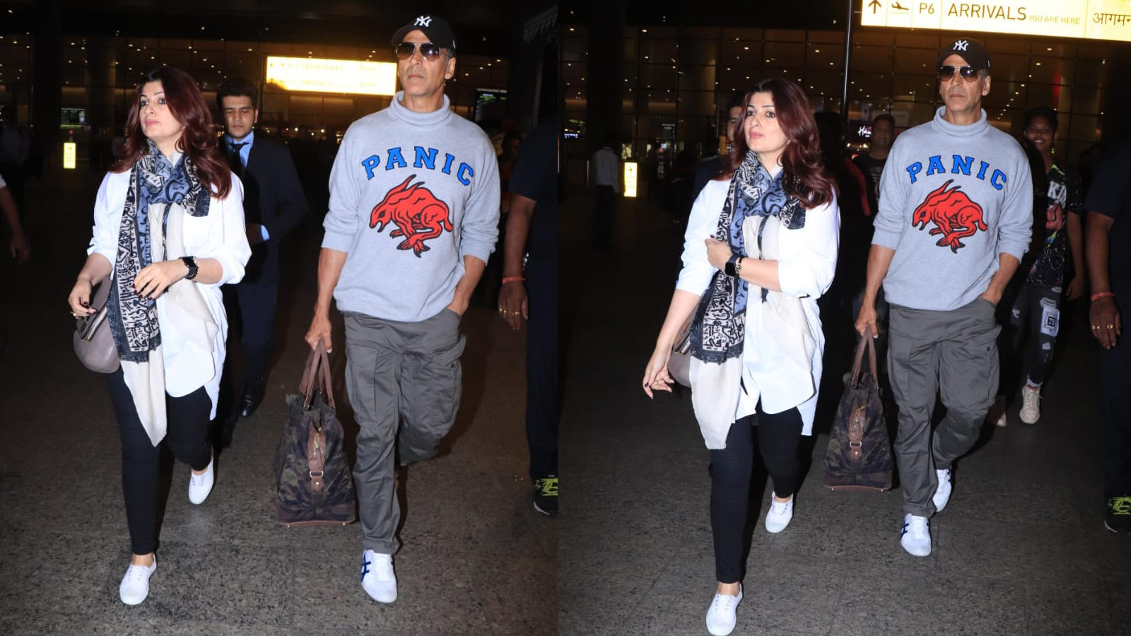 khiladi-akshay-kumar-and-mrs-funnybones-aka-twinkle-khanna-clicked-at-mumbai-airport