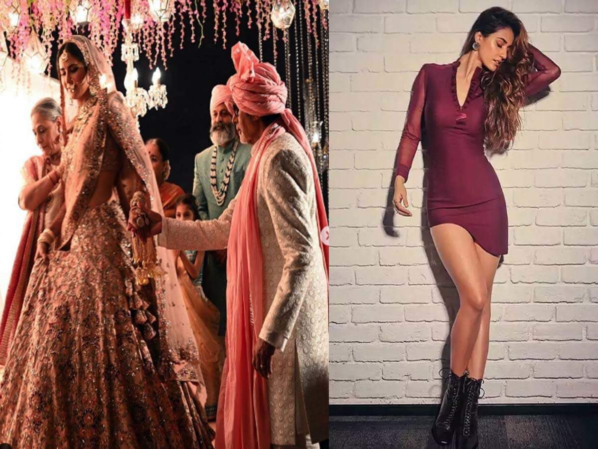 From Disha Patani's Beyonce look to Big B, Jaya and Katrina grooving together: Here's a sneak peek into what went viral this week - Times of India