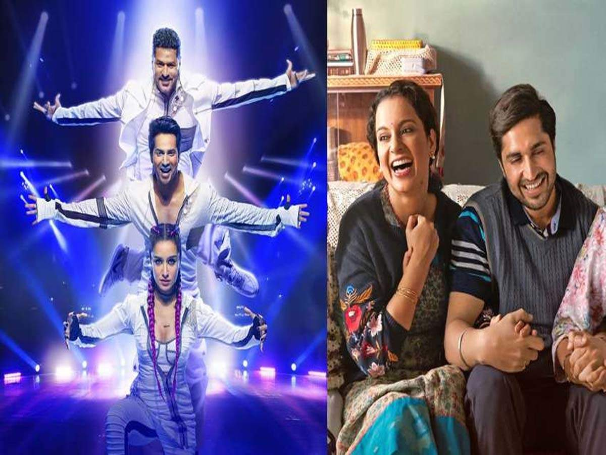 'Street Dancer 3D' and 'Panga' Day 1 collections: Varun Dhawan starrer film earns Rs. 10-11 crore while Kangana Ranaut manages with 2-2.50 crore - Times of India