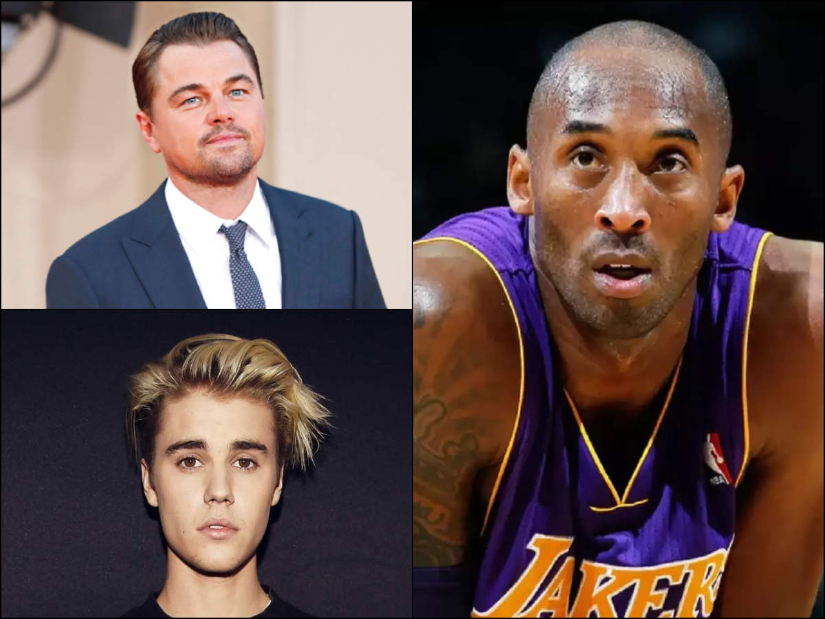 Leonardo DiCaprio, Taylor Swift, Camila Cabello, Justin Bieber and others mourn the untimely demise of Kobe Bryant - Times of India