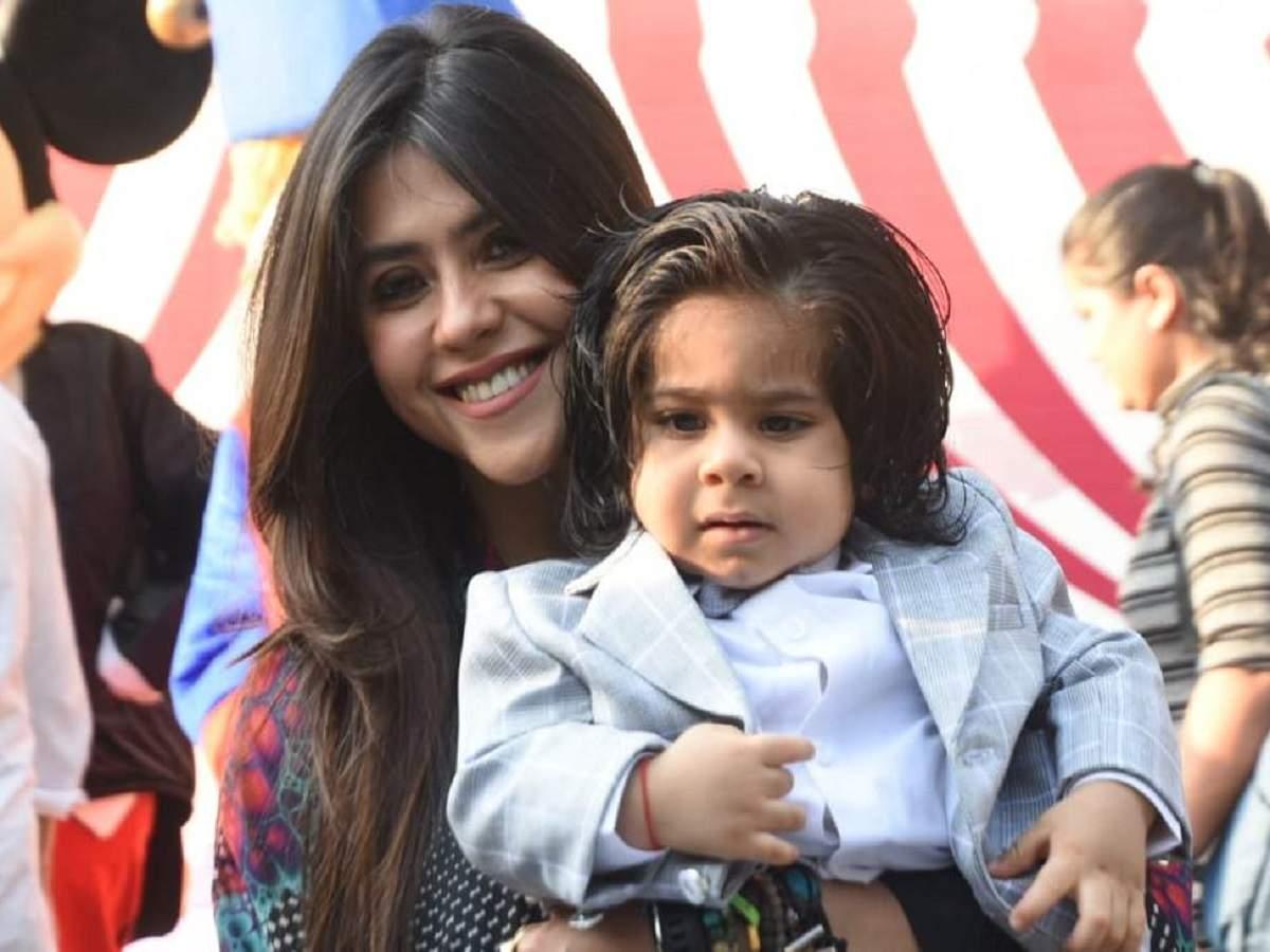 Ekta Kapoor wishes son Ravie on his first birthday; shares 'being ...