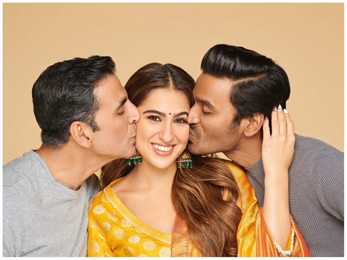 Atrangi re': Sara Ali Khan pens a heartfelt note for the makers;  says 'I can't believe my luck'     Hindi Movie News - Times of India