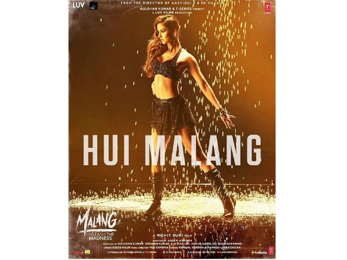 Malang Disha Patani Is All Set To Unleash The Madness With New Song Hui Malang See Pic Hindi Movie News Times Of India