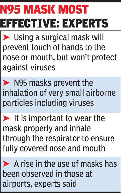 n95 virus protection mask