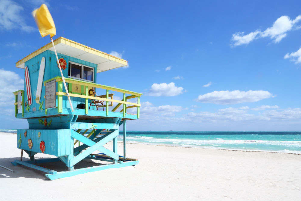 Iconic lifeguard towers at Miami Beach are being auctioned off