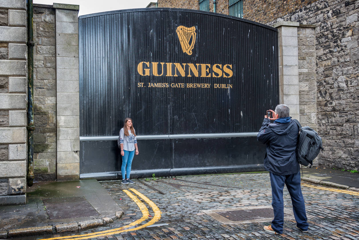 Do you want to see the process of brewing Guinness? Here's your chance