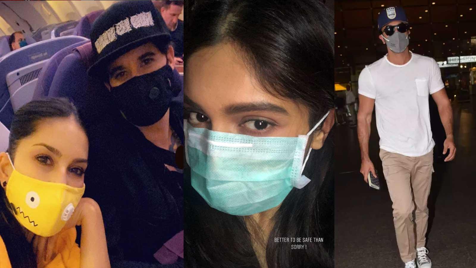 Coronavirus scare: After Sunny Leone, Ranbir Kapoor, now Bhumi ...
