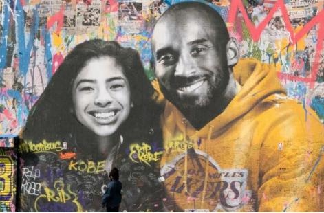 Los Angeles pays tribute to Kobe Bryant through art