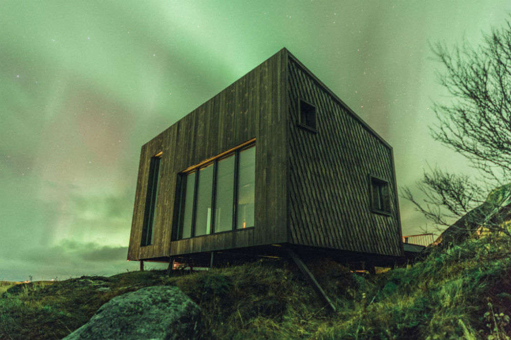 This village with tiny house in Arctic is a hotel, far from madding crowd