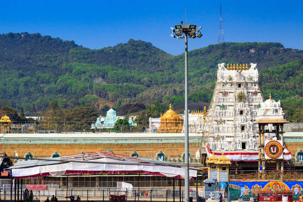 Temple resembling Tirumala Tirupati shrine to be built in Jammu near  Vaishno Devi   Times of India Travel