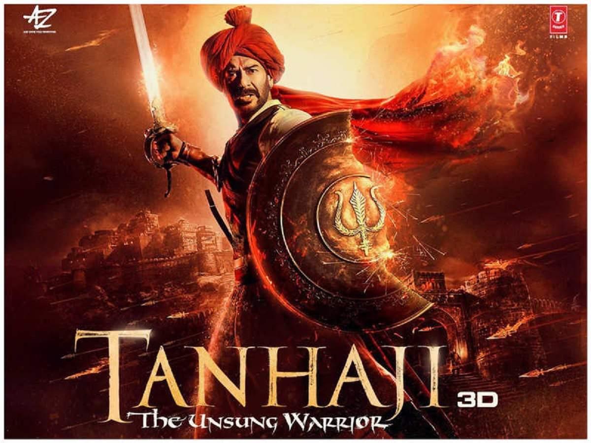 Tanhaji The Unsung Warrior: Movie Download (700mb) in Hindi Filmyzilla