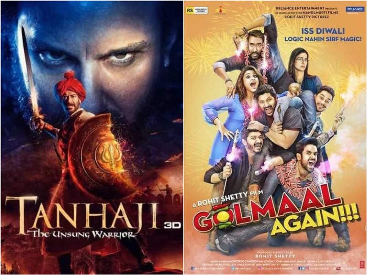 Ajay Devgn's 'Tanhaji: The Unsung Warrior' beats 'Golmaal Again' to become his BIGGEST worldwide hit thumbnail